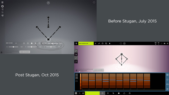 The Stugan effect, how the editor has been radically improved in the last few months